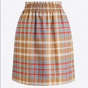 J.Crew Plaid Sidewalk Skirt